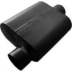 Flowmaster 9430119 Muffler 10 Delta Force Series 3in Inlet 3in Outlet