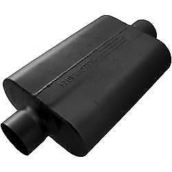 Flowmaster 943040 Muffler 40 Delta Flow Series 3in Inlet 3in Outlet