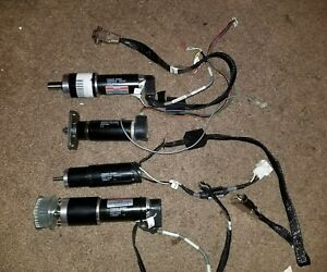 Maxon Dc Motor lot Of 4 With Encoder