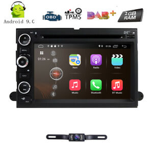 Android 7 1 Car Radio Dvd Gps Sat Navi Stereo For 2004 2014 Ford F150 F250 F350