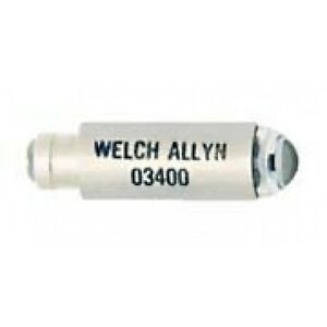 Welch Allyn Halogen Lamp Bulb For 2 5v Junior Clinic Pocket Otoscope 03400 u
