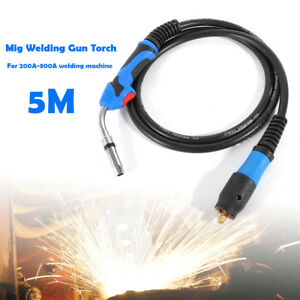 200a Electric Welder Complete Replacement Mig Welding Gun Parts Torch Stinger