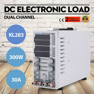 110v Dual Channel Dc Electronic Load Adjustable Led Lighting Cc cv 300w Hot