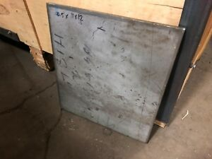 1 2 0 5 X 11 X 12 Long 304 Ss Stainless Steel Flat Bar Plate Sheet
