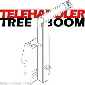 Telehandler Landscape Tree Boom Attachment rated For 8000 Lbs Fits Skytrak
