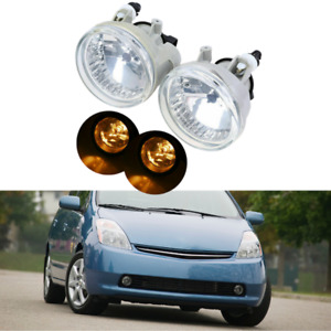 1pair Front Side Front Bumper Light Fog Lamp For Toyota Echo Scion Xa 2004 2005