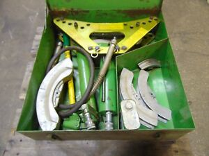 Greenlee 880 Hydraulic Conduit Pipe Bender Pump 1 2 3 4 1 1 1 4 1 1 2 2