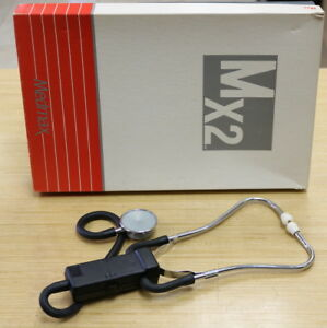 Vintage Medmax Mx2 Light Weight Stethoscope With Chestpiece In Original Box
