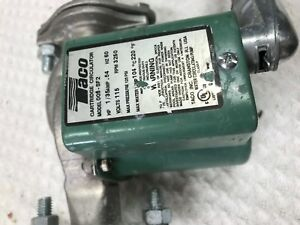 Taco 005 sf2 Stainless Steel Circulator Pump In Good Condition Free Shipping