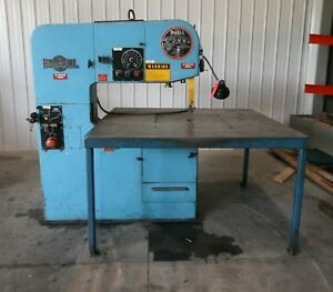 13428 Doall 36 Vertical Contour Saw Model 3613 20