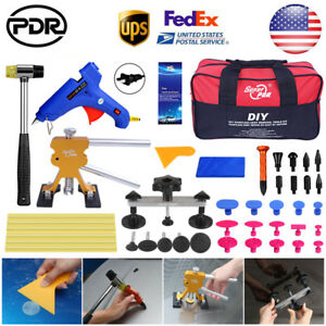 Pdr Tools Paintless Dent Repair Dent Puller Lifter Automotive Body Glue Removal