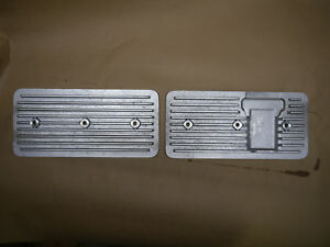 Finned Side Covers Chevy 292 Inline 6 Straight As Cast