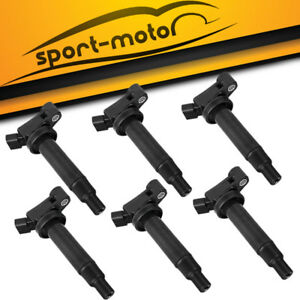 Pack Of 6 Ignition Coil Kit For 1998 2003 Lexus Es300 1788315 9008019016