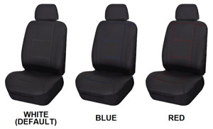 Single Stitched Leather Look Seat Cover For Mg Mga Rwd Coupe