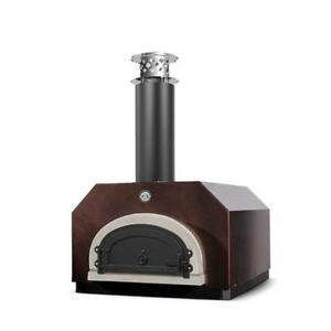 Cbo 500 Counter Top Wood Burning Pizza Oven By Chicago Brick Copper
