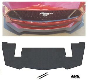 Pp2 Style Front Splitter 2 Support Rods 2018 2020 Mustang Gt Performance Pack