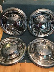 1958 Chevrolet Chevy Belair Impala Nomad Hubcaps Wheel Hubcaps Set Of 4