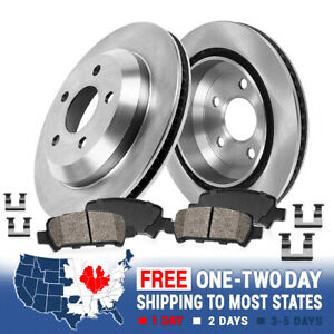 Rear Brake Rotors Ceramic Pads For 1994 1995 1996 1997 1998 1999 2004 Cobra