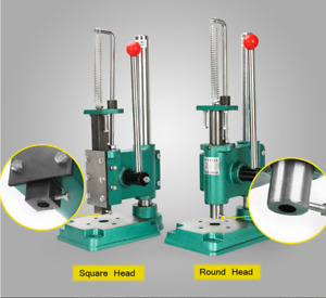 Round Head Manual Hand Press Punching Machine For Studs Eyelets Grommet