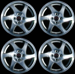 New Set Of 4 15 Alloy Wheels Rims For 1998 2001 Acura Integra