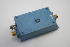 Microwave Rf Power Amplifier 900 1200mhz 33db Gain 1dbm Tested