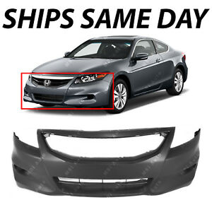 New Primered Front Bumper Fascia Cover For 2011 2012 Honda Accord Coupe 2 door