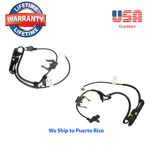 2 Front Abs Wheel Speed Sensor Fits Toyota Camry 2006 2011 Avalon 2005 2012