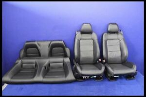 2015 2016 2017 Ford Mustang Gt Convertible Leather Front Rear Seats