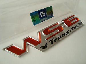 super New Huge Sunset Orange Pontiac Trans Am Ws6 Emblem Firebird Ceta 30th