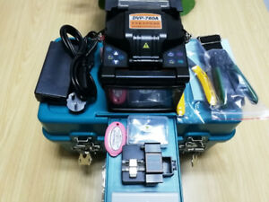 Brand New Fusion Splicer Include Optical Fiber Cleaver Automatic Focus Function