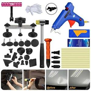 Paintless Dent Repair Removal Pdr Tools Auto Body Kit Puller Bridge G