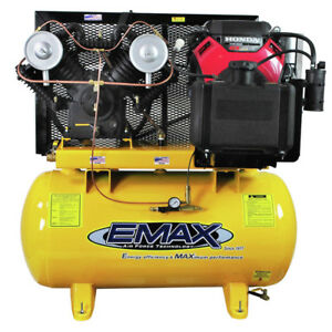 Emax Eges1860st 18 Hp 39 Cfm 60 Gal Stationary Air Compressor New
