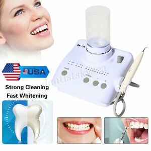 Portable Dental Ultrasonic Piezo Scaler Handpiece Tips Bottles F Dte Satelec Le
