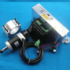 New 400w 48v Air Cooled Spindle Motor bldc Motor Controller motor Power mount