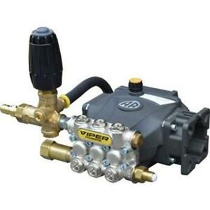 Ar Viper Vv3g27 Pump Made Ready Fully Plumbed Pump 3 Gpm 2700 Psi vrt Unloader