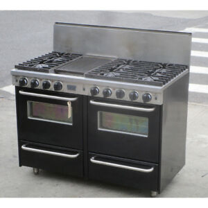 Fivestar Ttn5317w Pro style Natural Gas Range Convection Ovens Used