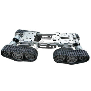New Cool Cnc Metal Robot Atv Track Tank Chassis Suspension With Powerful Motors