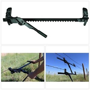 Wire Stretcher Tool Barb Smooth High Tensile Fence Tightener Tensioner