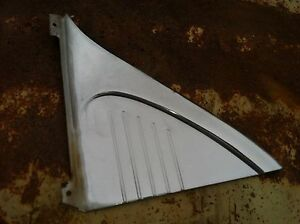 1953 Chevrolet Belair 4 Door Passenger Side Stainless Plate Behind The Rear Door