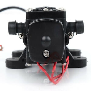 12v Mini Diaphragm High Pressure Self Priming Agricultural Electric Spray Pump