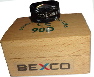 90d Double Aspheric Lens Slit Lamp Lens In Wood Box Best Quality By Brand Bexco