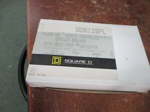 Square D Powerlink Remote Controlled Circuit Breaker Qob120pl 120 240v 50 60hz