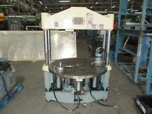 Nissei Th100r Injection Molding Press W Rotating Table T122805