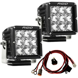 Rigid Industries 322113 D Xl Series Pro Led Lights Pair Dually Flood Projection