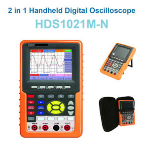 2in1 Owon Hds1021m n Digital Oscilloscope Auto scale Scpi Waveform Record Replay