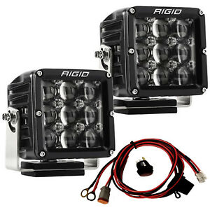 Rigid Industries 322413 D Xl Series Pro Led Lights Pair Of Dually Hyperspot Pods
