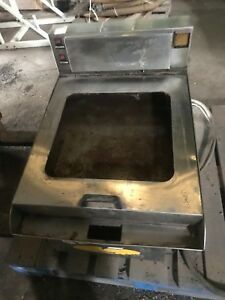American Griddle 2 Commercial Electric Steam Shell Griddle 2ft grd