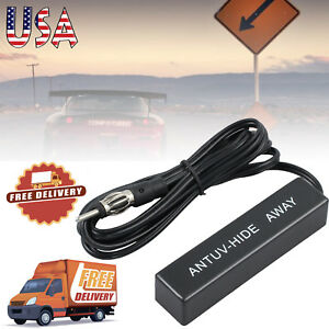 Hidden Antenna Radio Stereo Am Fm Stealth Universal Car Vehicle Truck Motorcycle