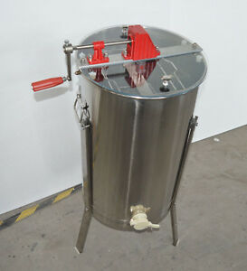 New 2frame Stainless Steel Honey Extractor With Stand Beekeeping Equipment170463