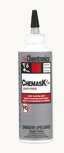 Chemtronics Lead free Latex Solder Mask Clf8 Fast Drying Non corrosive 8oz